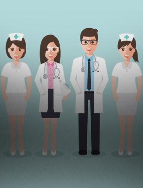 Студенты-медики на посту!